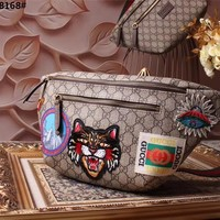 GUCCI GG SUPREME CANVAS COURRIER WAIST PACK BAG