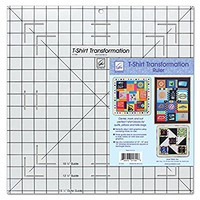 June Tailor T-Shirt Transformation Ruler, 15-1/2 by 15-1/2-Inch
