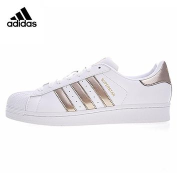 Original New Arrival Official Adidas SUPERSTAR Clover Women's And Men's Skateboarding Shoes Sport Outdoor Sneakers BB1428