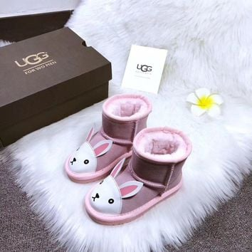 Ugg Baby Fashion Wool Snow Boots-8
