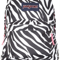 Jansport Backpack Zebra - Black Multi