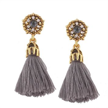 Womens Boho Long Tassel Earrings - Free Shipping