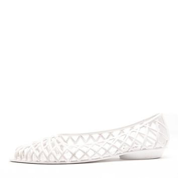 jellyfl - Flat Lattice Jelly Sandal