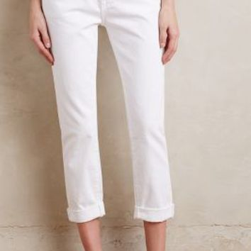 Current/Elliott Fling Straight Jeans in Sugar  Size: