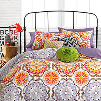 Marigold 3 Piece Comforter and Duvet Cover Sets - Bed in a Bag - Bed & Bath - Macy's