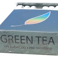BILLY 55 Green Tea Herbal Cigarettes -Non Tobacco - Non Nicotine Cigarette Alternatives - (4 pack Sampler, regular flavor)