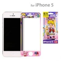 Strapya World : Sailor Moon SENSAI iPhone 5/iPhone 5s Screen Protecting Sticker