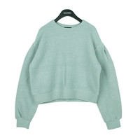 Soft Color Round Sweater