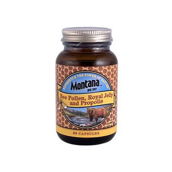 Montana Bee Pollen Royal Jelly And Propolis (90 Capsules)