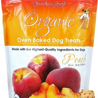Grandma Lucy's Organic Peach Baked Dog Treats 14oz