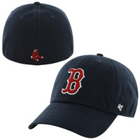 Boston Red Sox '47 Brand Franchise Fitted Hat – Navy Blue