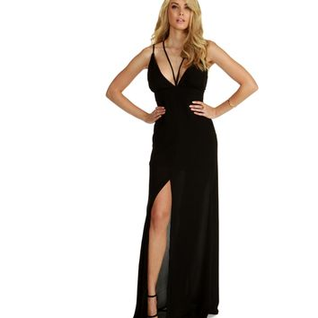 Vivian-black Formal Dress