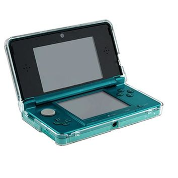 Brand New Crystal Clear Hard Skin Carbonate Plastic Case Cover Protective Case for Nintendo 3DS N3DS Console