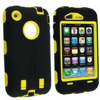Otterbox Defender Series Case for iPhone 3G/3GS (Black/Yellow) - Non-Retail Packaging