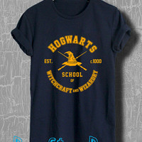 Harry Potter Shirt Hogwarts Wicthcraft and Wizardry Tshirt Unisex Size T-Shirt