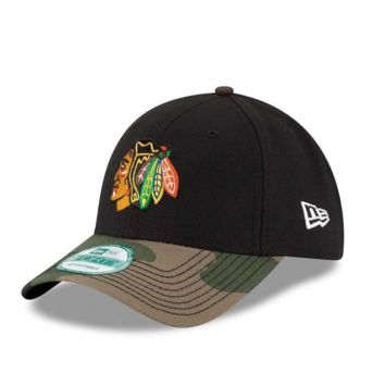 Chicago Blackhawks Camo The League 9Forty Adjustable Hat