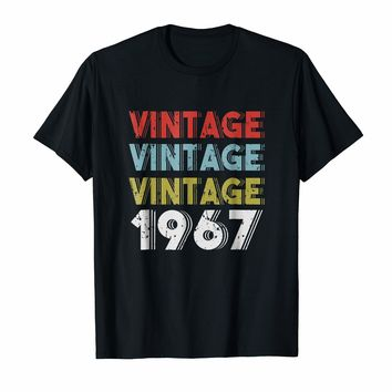 Retro Vintage Born In 1967 - 51st Birthday Gift