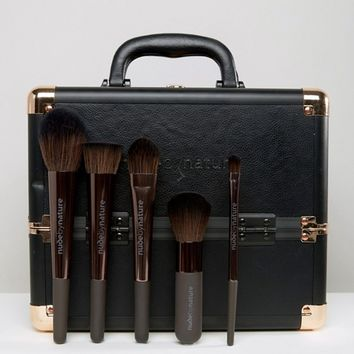 Nude By Nature Destination - Pro Make Up Case & Brushes at asos.com