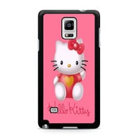 Hello Kity Love Suit Samsung Galaxy Note 4 Case