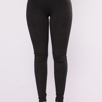 Let it Go High Rise Leggings - Black