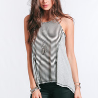 Frequent Flyer Striped Tank