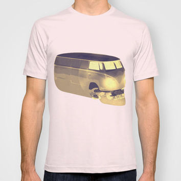 Skull Volkswagen T-shirt by ▲ Bright Enough | Society6