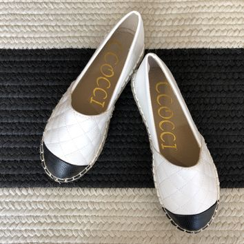 Coco Quilted Espadrilles