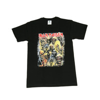 Vintage Culture Iron Maiden V3 Tee In Black
