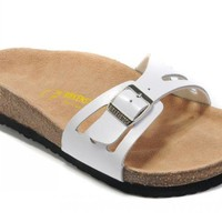 Birkenstock Molina Sandals Leather White - Ready Stock