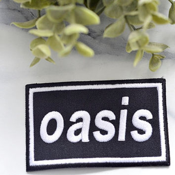 OASIS Music Iron on Patch