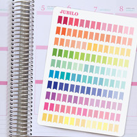Planner Stickers Small Page Flags