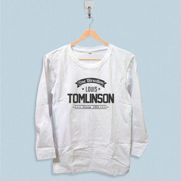 Long Sleeve T-shirt - One Direction Louis Tomlinson