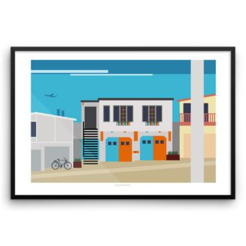 Manhattan: Rosecrans Graphic Print