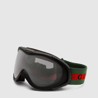 Gucci - ski goggles with gucci logo and signature web detail. 266709J16919005
