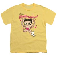 Betty Boop - Fabooplous! Short Sleeve Youth 18/1