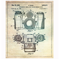 Oliver Gal Blueprints | Sauer Camera - 1962