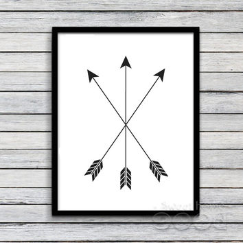 Arrows Canvas Art Print Painting Poster, Wall Pictures For Home Decoration, Home Decor FA234