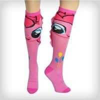 My Little Pony Pinkie Pie Mane Knee High Socks