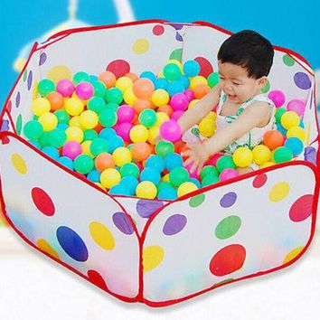 ICIK272 New Children Kid Ocean Ball Pit Pool Game Play Tent In/Outdoor Kids House Play Hut Pool Play Tent