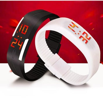 Touch Screen LED Bracelet Digital Watches