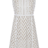 Floral Cutout Leather Dress | Moda Operandi