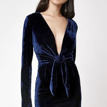 MinkPink Midnight Hour Velvet Dress at PacSun.com