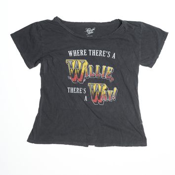 Where There's A Willie There's A Way Boyfriend Tee