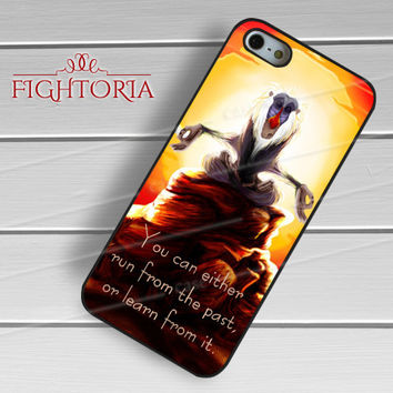 The Lion King Quote - zDzA for  iPhone 6S case, iPhone 5s case, iPhone 6 case, iPhone 4S, Samsung S6 Edge