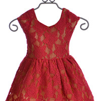 Joyfolie Josefine Dress for Girls in Red