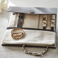 MCKENNA LEATHER TRAVEL JEWELRY PORTFOLIO