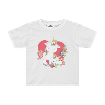 Mama and Me Unicorn Toddler Shirt