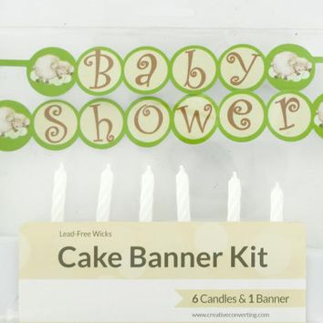 Baby Shower Cake Banner & Candles Kit ( Case of 96 )