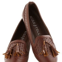 ModCloth Menswear Inspired Office Casual Flat