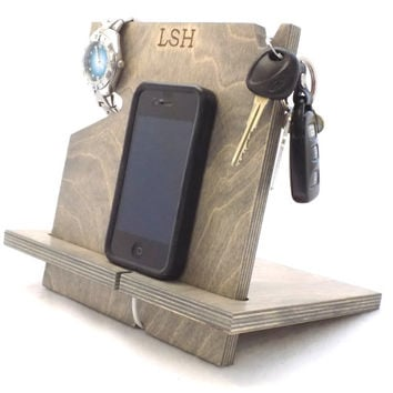 Anniversary Gifts for Men, Boyfriend Gift, iPhone Dock, Docking Station